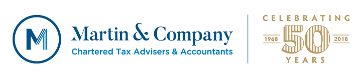 Martin & Company. Providing a full range of accountancy and taxation services in West Dorset for fifty years. Contact us to see how we can help you – free and confidential initial consultation 2 Victoria Grove Bridport, Dorset DT6 3AA Call us on 01308 422131